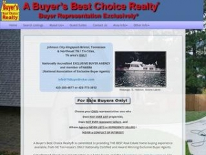 A Buyer's Best Choice Realty®: Buyer Representation Exclusively®